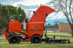 Autonomous Outdoor Robot Transforms from Large-Scale Field Mower to Snow Clearing Robot
