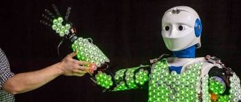 First Autonomous Humanoid Robot with Full-Body Artificial Skin
