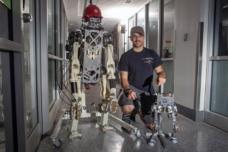 Researchers Develop New Method to Control Balance in Two-Legged, Teleoperated Robot