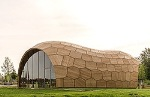 KUKA Robot Helps Fabricate Wooden Pavilion Inspired by the Sea Urchin