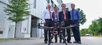 Research Uses 4.5G Mobile Phone Network to Provide Command for Safe Drone Operations