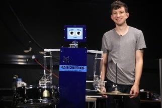 Researchers Build Drumming Robot to Improve Human Interaction with Robots
