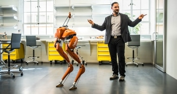 Caltech Researcher Strives to Take Robotics to Next Level