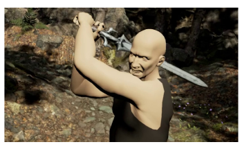 New Data-Driven Solution to Create Realistic Virtual Reality Sword Fights