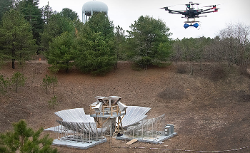 Researchers Use Drones to Calibrate the BMX Radio Telescope