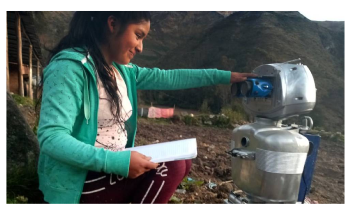 Innovative Robot Conducts Outdoor Classes in Remote Village