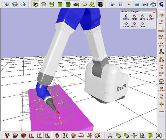 EASY-ROB Simulation and Planning Software for Robot Cells