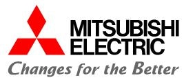 Mitsubishi Electric Corporation logo.
