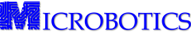 Microbotics, Inc. logo.